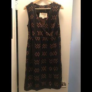 Ace and jig sampler Bedford dress